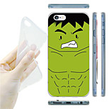 Green Giant Pattern TPU Soft Back Case for iPhone 6