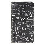 Mathematical Formula Design PU Leather Full Body Protective Case with Stand Wiko Lenny