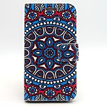 Disc Pattern PU Leather Full Body Case with Card Slot and Stand for iPhone 6