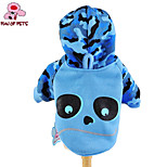 FUN OF PETS® Cartoon Camouflage Blue Bear Pattern Hoodies for Pets Dogs (Assorted Sizes)