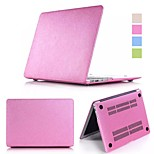 Candy Colors Soft Touch ABS+Plastic Luxury Smooth Silk Skin Case Cover for Macbook Pro Retina 13'' (Assorted Color)