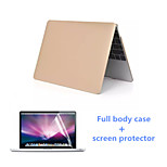Solid Color PVC Full Body Protective Case and HD Screen Flim for Macbook Retina 15.4 inch (Assorted Colors)