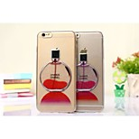 Perfume Bottles Design TPU Soft Back Case for iPhone 6(Assorted Colors)