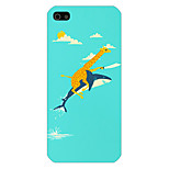 The Whale Pattern Phone Back Case Cover for iPhone5C
