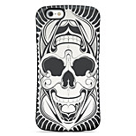 Skull  Pattern PC + TPU Drop Resistance  Phone Shell For iPhone 6