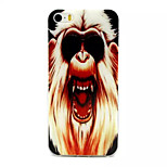 Angry Monkey Pattern TPU Material Phone Case For iPhone 5/5S