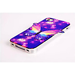 3D Butterfly Pattern Style TPU Bling Bling Soft Smart Phone Case Protective Case Cover for iPhone5 5S
