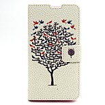 Tree Pattern PU Leather Material Card Full Body Case for Nokia 640