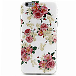 Chinese Rose  Pattern IMD + TPU Phone Case For iPhone 6  Plus