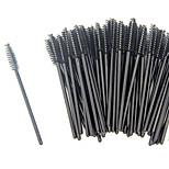 ELB 100 pcs/lot Beauty Makeup Brush Make Up Stick Eyes Care Disposable Eyelash Mascara Applicator Wholesale