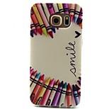 milovat pen vzor TPU materiál telefonní pouzdro pro Samsung Galaxy S3 S4 S5 S6 s3mini s4mini s5mini s6 hraně