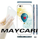MAYCARI®Blue Balloon Pattern TPU Soft Transparent Back Case for iPhone 6