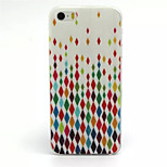 Colorful Diamond Pattern TPU Material Phone Case For iPhone 5/5S