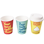 DIY LED Environmental Protection Paper Cup Lamp Nightlight (Three Pcs Per Set)