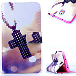 KARZEA™Cross Necklace Pattern PU Leather Case with Screen Protector Stylus and Dust Plug for Samsung Galaxy Note3 N9000