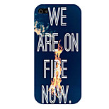 The Letter Pattern Phone Back Case Cover for iPhone5C