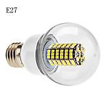 E14/B22/E26/E27 7 W 120 SMD 3528 630 LM Warm White/Cool White G Globe Bulbs AC 220-240 V