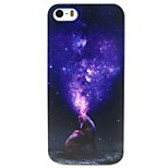 Wolf Pattern TPU Material Soft Phone Case for iPhone 5/5S