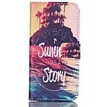 Fashio Design COCO FUN® Great Summer Story Pattern PU Full Body Leather Case Cover for iPhone 6