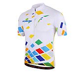 Getmoving Classic Personality Fashion Gorgeous Color Short Dress + Sweat Bicycle Service