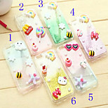 Cute Cartoon Gradient Design TPU Soft Back Case Cover for iPhone 6(Assorted Colors)