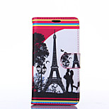 Love Pattern PU Leather Full Body Case with Stand for Sony Z3