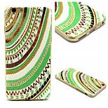 coloré motif shell cas matériau TPU de téléphone pour iPhone 6