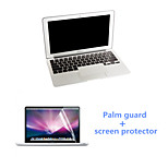 Ultrathin Silver Palm Guard and HD Screen Protector with Package for Macbook Pro 15.4 inch