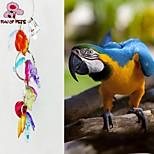 FUN OF PETS® Colorful  Different Fruits-shaped Chewing Lot with Bell for Birds (Random Colour)