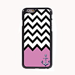 The Pink Wave Design Aluminum Hard Case for iPhone 6