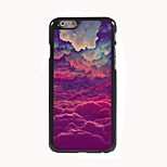 Colorful Cloud Design Aluminum Hard Case for iPhone 6