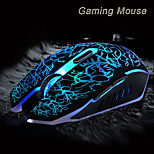 2015 New Adjustable 3200DPI 6 Buttons Optical USB Wired Gaming Game Mouse LED for PC Laptop