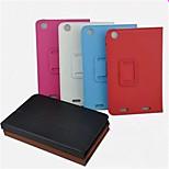 colori solidi di alta qualità casi di cuoio dell'unità di elaborazione con i casi basamento corpo pieno 7