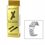 Mini smile™ Stainless Steel Watch Band for APPLE WATCH - Silver