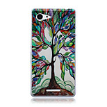 Colorful Tree of Life Pattern TPU Soft Back Cover Case for Sony Xperia E3