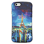 Painted Tower  Pattern PC + TPU Drop Resistance  Phone Shell For iPhone 6