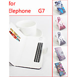 Flip Leather Magnetic Protective Case For Elephone G7(Assorted Colors)