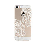 Flowering Pattern PC Material Phone Case for iPhone 5/5S