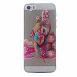 Red Elephant Pattern Ultrathin Hard Back Cover Case for iPhone 5/5S