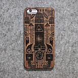 madeira shell personalidade para iphone 6