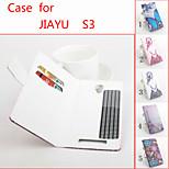 cuoio di vibrazione custodia protettiva magnetica per jiayu s3 (colori assortiti)