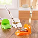 Plastic Spoon Chopstick Storage Holder Rack Shelf Kitchen Dish Rack Shelving (Random Color)
