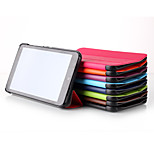 Top Selling Solid Colors Floding Flip Leather Case with Stand Function for HP Stream 7 (Assorted Colors)