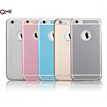 Armor Style Metal And TPU Double Protective Case for Iphone 6(Assorted color)