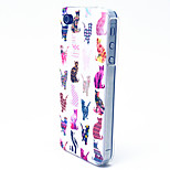 Colorful Cat Pattern TPU Material Phone Case for iPhone 4/4S