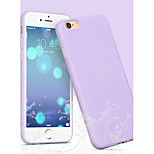 Summer Fruit Color Thin TPU Material  Phone Case for iPhone 6 Plus(Assorted Colors)