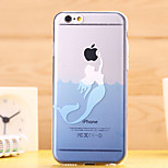 Ultra Thin Glacier Animals Transparent TPU Soft Shell for iPhone 6 Plus(Assorted Colors)