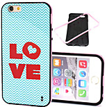 Love  Pattern Pattern TPU + PC Border Phone Case For iPhone 5/5S