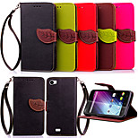 High Quality Wallet Card Holder PU Leather Flip Case Cover for Wiko LENNY (Assorted Colors)