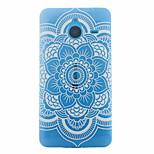 Datura Flowers Pattern PC Material Phone Case for Nokia 640XL